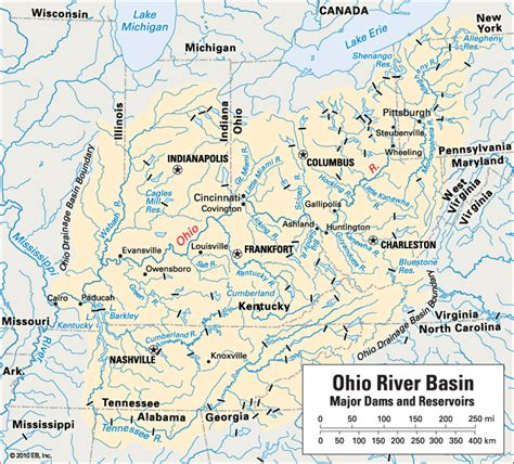 map of ohio rivers and cities ohio river location encyclopedia children s