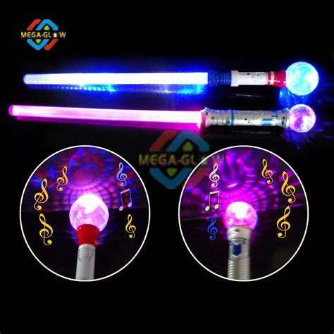 light up wand toy flashing light up stick spinning wand children toy magic