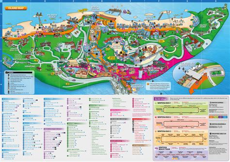 siloso resort location map essential guide to sentosa in singapore attractions