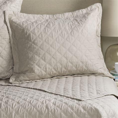 Blue Quilted Pillow Shams by Fleur De Lis Blue Quilted Pillow Sham Standard Save 31