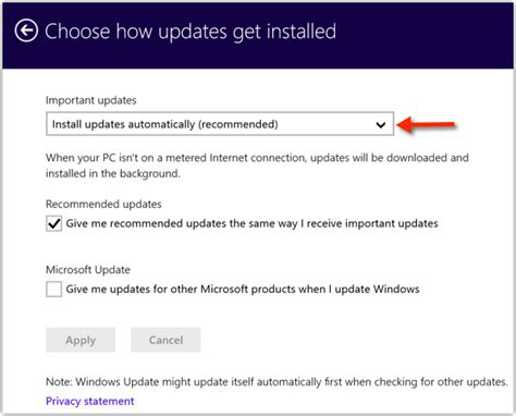 how to choose windows windows 8 1 choose how updates get installed solverbase com