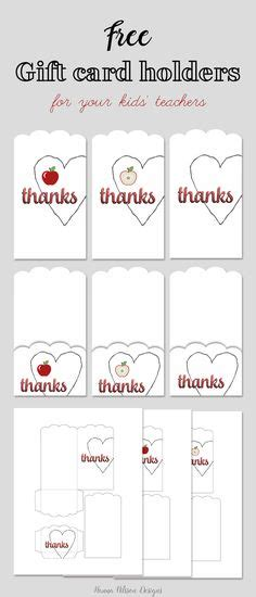 do it yourself printable greeting cards printable teacher appreciation gift card holders