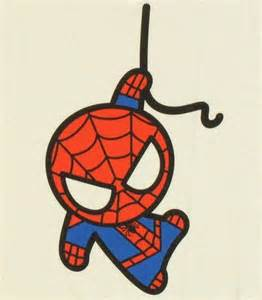spiderman toy hang baby tee