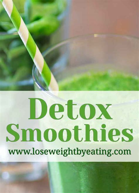 3 Day Vegetable Smoothie Detox by 8 Detox Smoothie Recipes For A Fast Weight Loss Cleanse