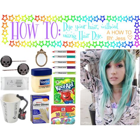 is it better not to wash your hair before coloring dying your hair without hair dye polyvore
