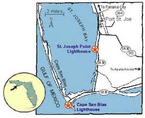 cape san blas florida map cape san blas lighthouse