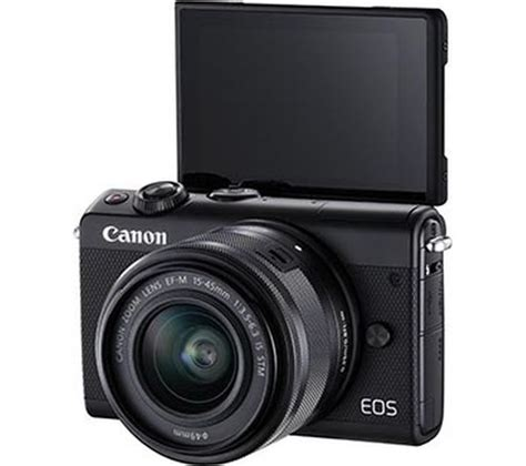Canon Eos M100 Mirrorless Kit 15 45mm Is Stm buy canon eos m100 mirrorless with ef m 15 45 mm f
