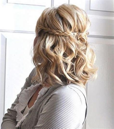 peinado para media melena belleza foro bodas foto peinados de boda para media melena diadema trenzada
