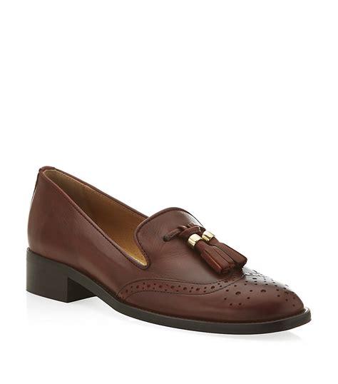 kurt geiger loafers carvela kurt geiger louis loafers in brown lyst