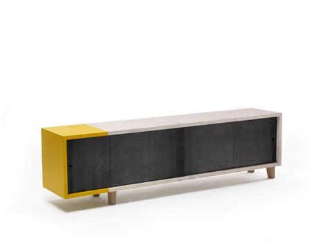 Tv Cabinet Sliding Doors Tv Cabinet With Sliding Doors Mercuzio By Vontree