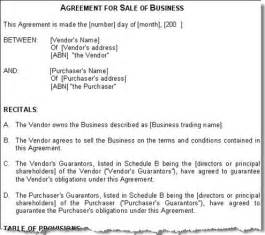 Business Sale Template International Business International Business Contract