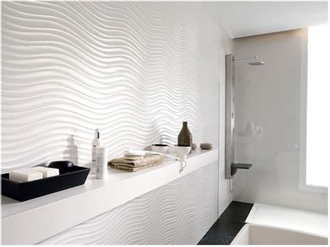 Modern White Tile Bathroom by Squeaky Clean 10 Stunning Modern Bathroom Tile Designs