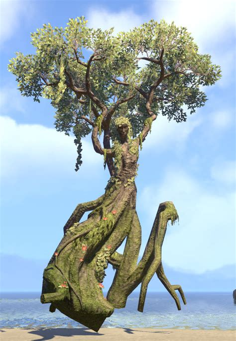 eso fashion tree treehenge green lady elder scrolls