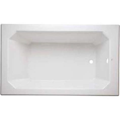 Mirabella Bathtubs by Mirams6036wh Amberley 60 X 36 Soaking Tub White At