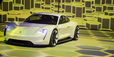 porsche electric supercar porsche unveils its stunning mission e an electric
