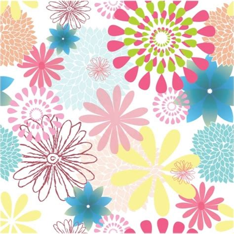 pattern floral ai flower pattern free vector in adobe illustrator ai ai