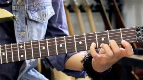 tutorial gitar noah latihan fingering dasar pada gitar bersama giwe santos