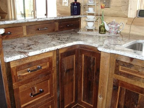 barn wood kitchen cabinets reclaimed barnwood kitchen cabinets barn wood furniture