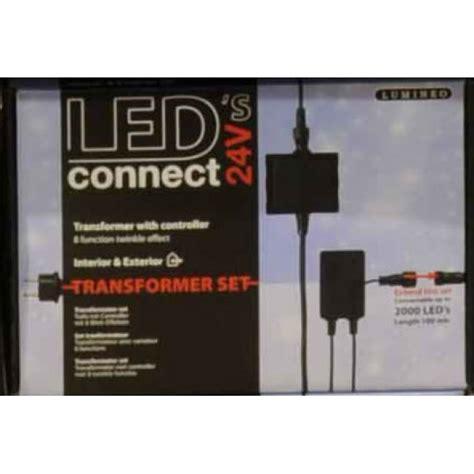lumineo 24v connect lumineo led s connect 24v transformer set