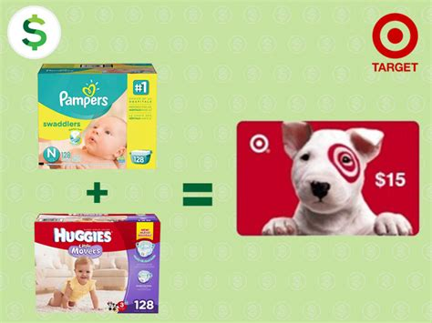 Where Can I Buy Target Gift Cards Other Than Target - stock up now on diapers free 15 target gift card when you buy 2 packs of diapers deals