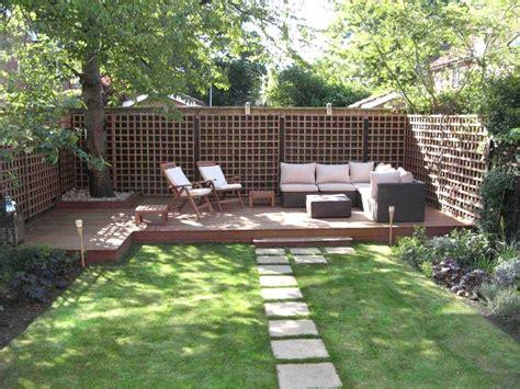ideas for small rectangular garden the garden inspirations