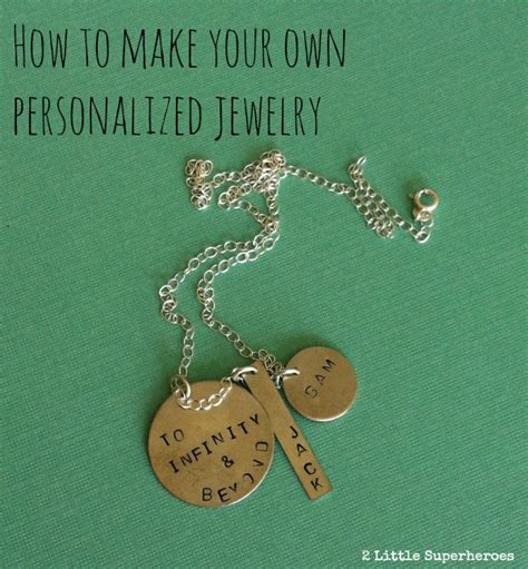 make your own metal jewelry make personalized metal sted jewelry for nunn design
