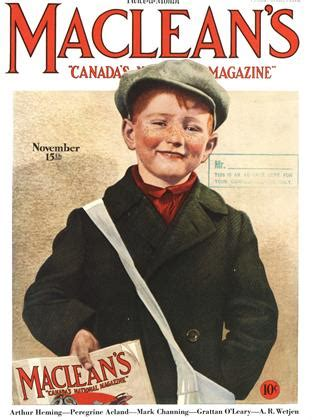 Featured In Macleans 2 by Maclean S The1930s 1930 The Complete Maclean S Archive