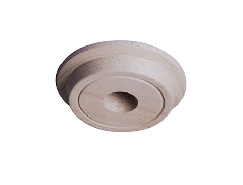 wood ceiling light ceiling pattress in beech