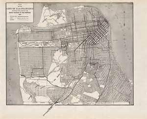 san francisco map history 1000 images about san francisco maps on