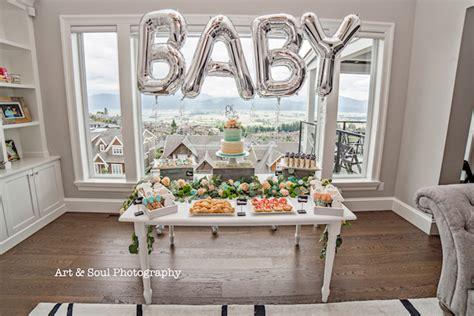 Neutral Themed Baby Shower by Kara S Ideas Pastel Gender Neutral Baby Shower
