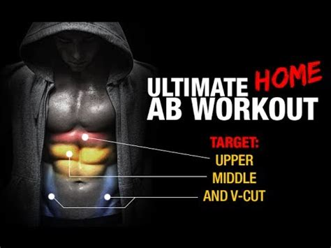 ultimate home ab workout middle lower v cut