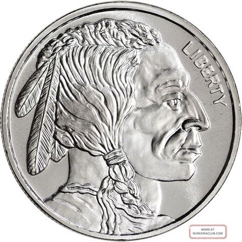 1 Troy Ounce Silver Buffalo Coin - 1 buffalo indian 1 oz 999 silver coin one troy