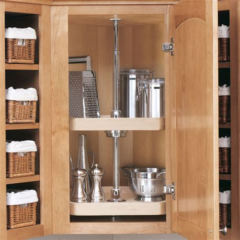 beautiful lazy susans for kitchen cabinets 15 upper rev a shelf wood classic quot d shaped 2 shelf and 3 shelf