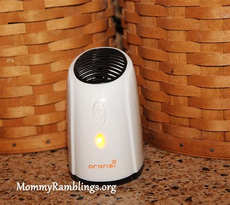 oransi ionic fridge air purifier review giveaway