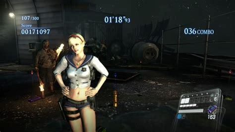 Ps4 Resident Evil 6 Reg All resident evil 6 ps4 mercenaries no mercy rooftops sherry alt costume