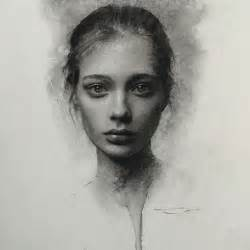 Portrait Drawers by Stunning Charcoal Drawings On Paper By Casey Baugh
