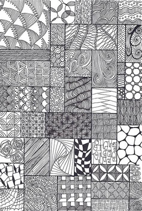pattern drawing exles zentangle
