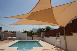Deck Shades Awning New 10ft Triangle Sun Block Shade Sail Uv Canopy Awning