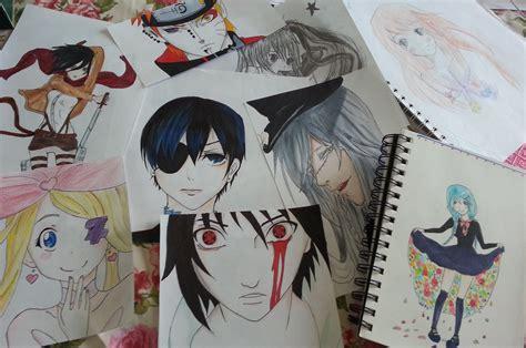 sketchbook anime anime sketchbook drawings 2014