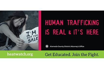 human trafficking handbook recognising alameda county da nancy o malley unveils new anti trafficking billboard caign east county today