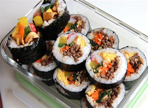 image gallery kimbap
