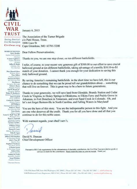 Donation Letter Turner news 171 the turner brigade missouri volunteers u s