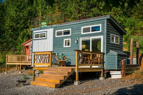 experience a tiny house using this vacation rental in new company brings luxury tiny house rental experience to