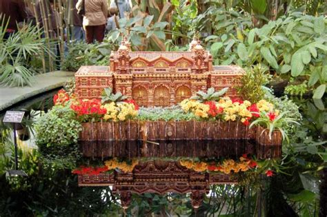 the new york botanical garden s 13th annual orchid show nybg annual train show celebrates 20th anniversary with