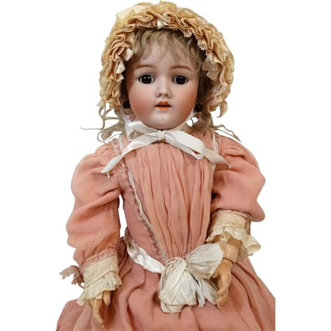antique bisque german doll antique german bisque doll heinrich handwerck hh 69