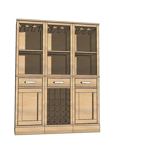Prefab Cabinet Doors White Build A Modular Bar Base Door Free And Easy Diy Project And Furniture Plans Gift
