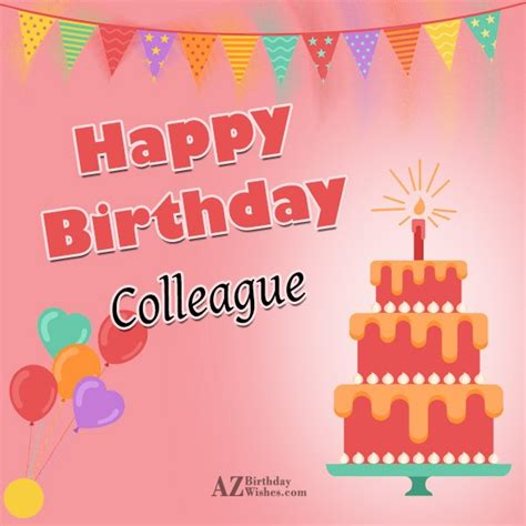 Happy Birthday Wishes To Colleague 30 Best Birthday Wishes And Greetings For Colleague