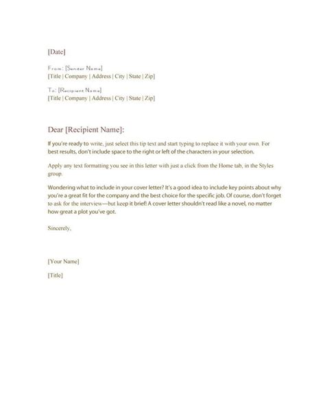 business letter keep in touch best 25 formal business letter format ideas on