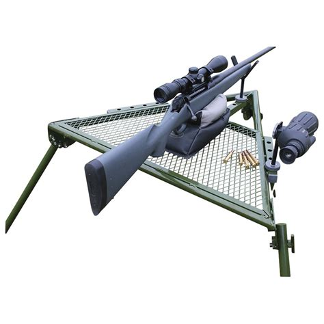 portable shooting bench reviews hyskore portable shooting bench 616908 shooting rests