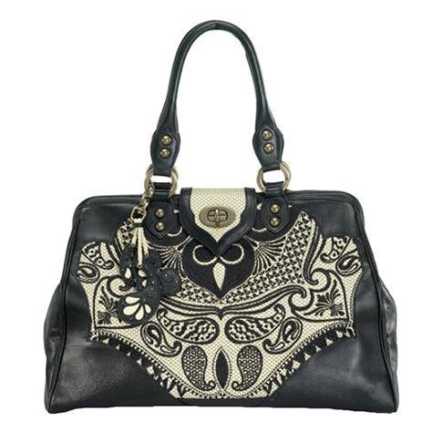 Fiore Terry Frame Bag by Fiore Paisley Frame Satchel Handbag